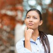Young Businesswoman daydreaming, Thinking — Stock Photo #51629953