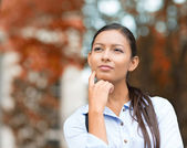 Young Businesswoman daydreaming, Thinking  — Stock Photo