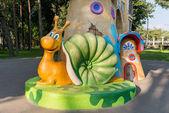 Coloured Snail — Stock Photo