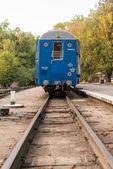 Mavi treni — Stok fotoğraf