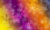 Stelle bokeh sfondo su colori vivaci — Zdjęcie stockowe