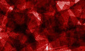 Grungy red squares in a bokeh style to used as a background — Stock Photo