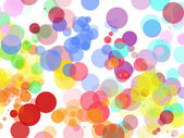 Colorful abstract background on a white background — Stock Photo