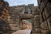 Gate in Mycene — Stock Photo