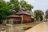 Wooden church, Kosice — Stock Photo
