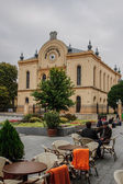 The old synagogue in Pecs — Stock Photo