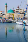 Acre Fishing Harbor — Stockfoto