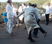 Lag BaOmer on Mount Meron — Stock Photo
