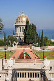 The Bahai gardens — Stock Photo