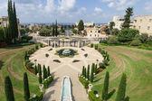 Bahai gardens, Haifa — Stock Photo
