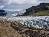Skaftafell Glacier — Stock Photo