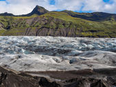 Skaftafell Glacier — Stock Photo