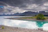 Lake Pukaki and Southern Alps — Stockfoto