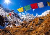 Annapurna Himal region — Stock Photo