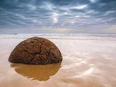 ünlü moeraki boulders — Stok fotoğraf