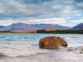 Lake Tekapo and Southern Alps — 图库照片