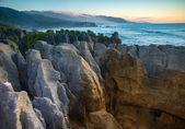 Pancake Rocks at Punakaiki — Stock Photo