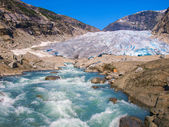 Nigardsbreen Glacier — Stock Photo