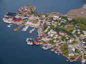 Fishing village Reine — Stock Photo