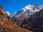 Annapurna South peak — Stock Photo