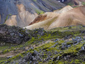 Landmannalaugar fjallabak nature — Photo