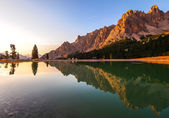 Dolomites Group Cristallo — Stock Photo