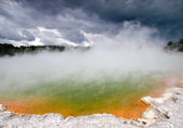 Champagne Pool at Wai-O-Tapu — Stock Photo