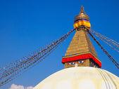 Stupa de boudhanath — Foto Stock