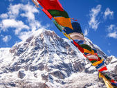 Annapurna Himal region — Stock Photo
