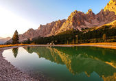 Dolomites Group Cristallo — 图库照片