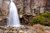 Waterfall along the Tongariro Crossing — Foto de Stock