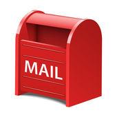 Vector Mailbox Icon — Stock Vector