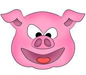 Happy Pig — Stock Photo