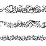 fronteras de rosas — Vector de stock  #50391637