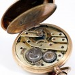 Постер, плакат: Mechanism of an old pocket watch
