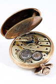 Mechanism of an old pocket watch — Stockfoto