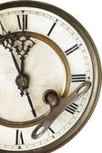 Advices of old clock — Stock Photo