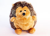 Toy plush hedgehog — Stock Photo
