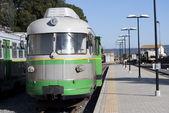 El trenino verde de cerdeña — Foto de Stock