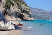 Cala Luna-Tropical paradise in Sardinia — Stock Photo