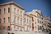 Cagliari Historic buildings — Stock Photo