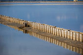 Sardinia.Salt Ponds — Stock Photo