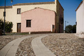 Sardinia. Old buildings — Stock Photo