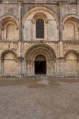Beatiful romanesque facade — Stock Photo