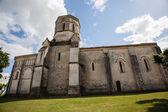 Rioux kirche gesamtansicht — Stockfoto