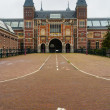 Rijksmuseum entrance vertical view — Stock Photo #48960991