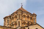 Great romanesque dome in Toro Collegiate Church in Zamora — Stock Photo