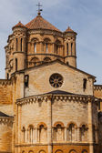 Abse and dome view  in the romanesque Collegiate Church of Toro — Stock Photo