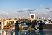 Paysage urbain de berlin avec la tour de télévision en bas — 图库照片