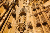 Beautifuly carved stone in New Cathedral of Salamanca — Stock Photo